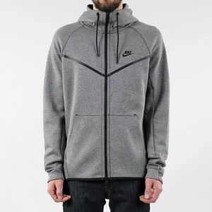 Nike Tech Fleece Dark Grey Jacket